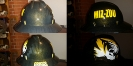 MIZ ZOU custom hard hat