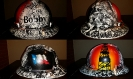 oilfield hard hat with Texas lonestar flag