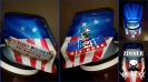 wab fab custom painted welding helmet