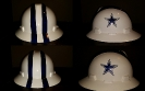 white dallas cowboys custom haRd hat