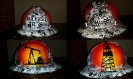 white oilfield trash hard hat