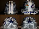 dallas cowboys hard hat with lightning